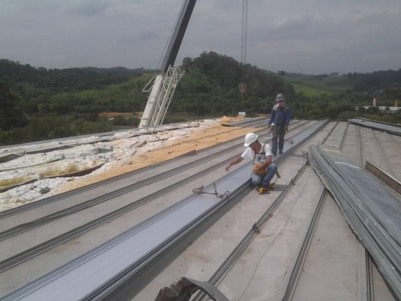 Calha de Alumínio para Galpão Industrial Preço Vila Laércio Teixeira - Calha de Alumínio para Galpão Industrial