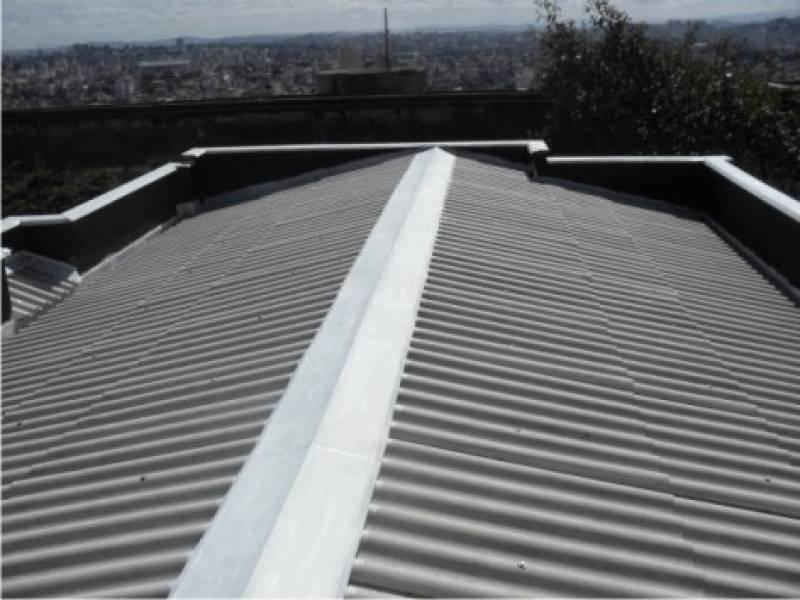 Calha de Alumínio para Galpão Industrial Núcleo Residencial São Luiz - Calha de Alumínio