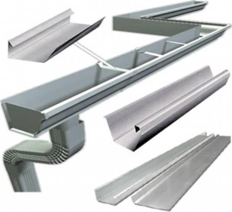 Calha de Alumínio Núcleo Residencial Cristo Rei - Calha de Alumínio para Estufa