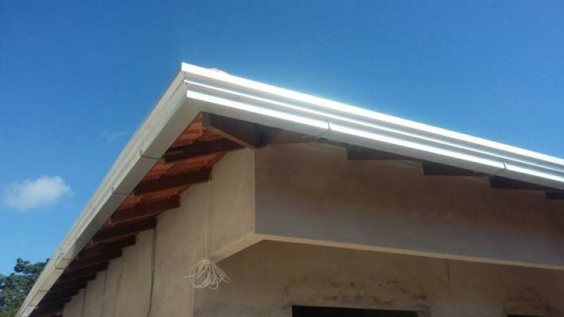 Calha em Alumínio Jardim Rossin - Calha para Telhado de Alumínio