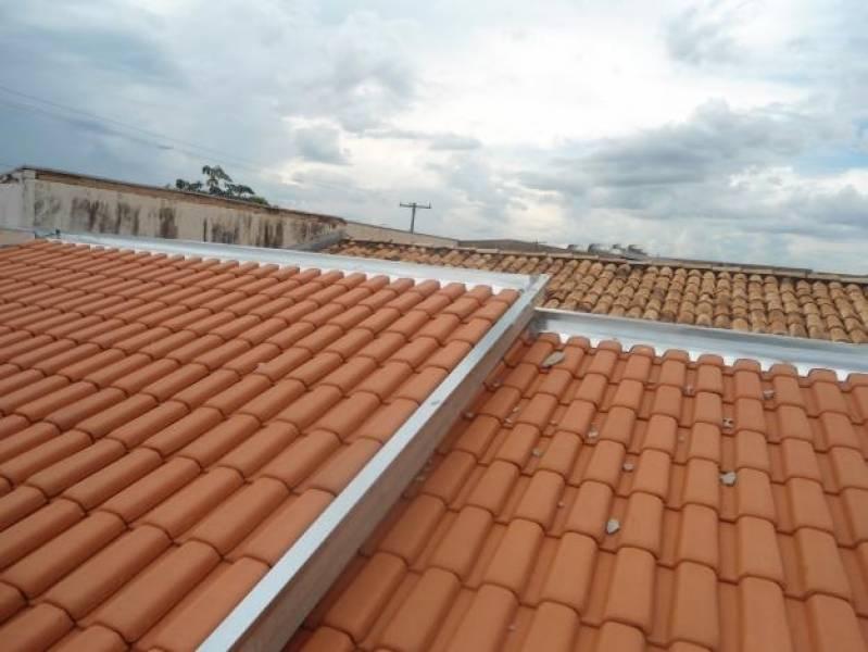 Calha Industrial Núcleo Residencial São Luiz - Calha Galvanizada para Telhado