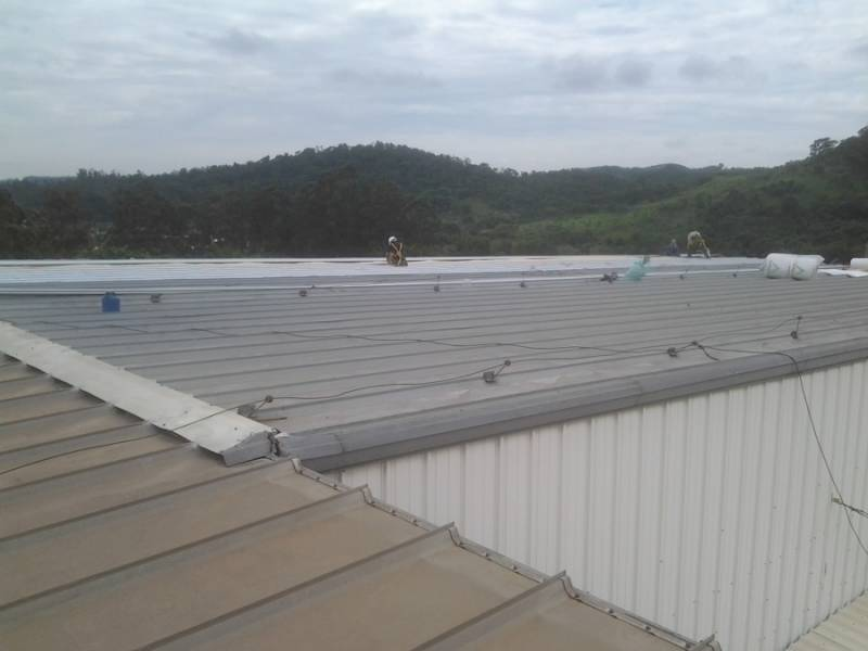 Calhas de Alumínio para Galpão Industrial Bosque das Palmeiras - Calha de Alumínio para Telhado