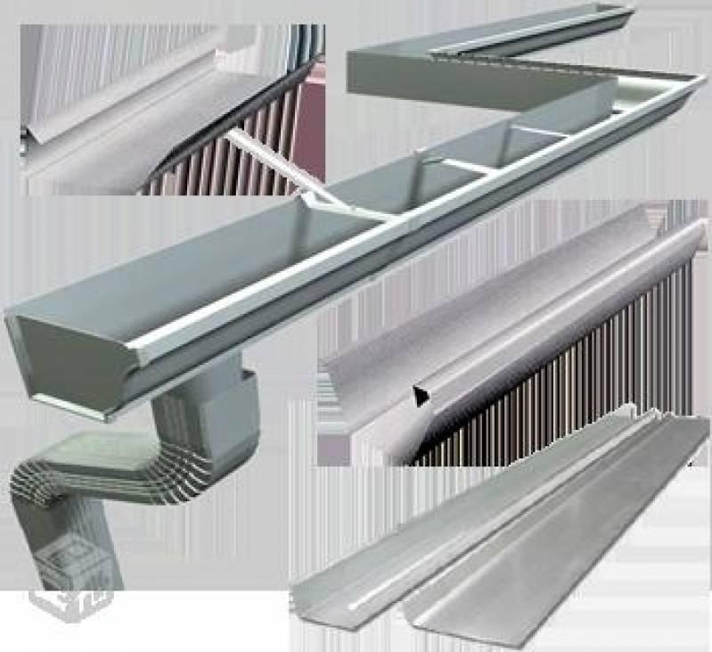 Calhas de Zinco Jardim São Francisco II - Calha de Alumínio para Estufa