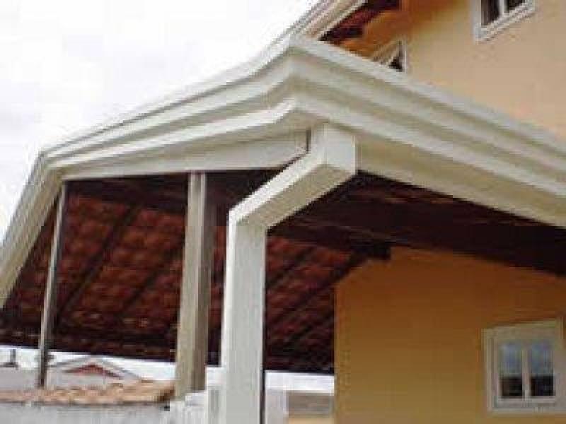Calhas Galvanizadas para Telhados Núcleo Residencial Rosália IV - Calha de Alumínio