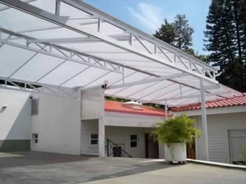 Cobertura Metálica com Policarbonato Preço Vila Padre Manuel da Nóbrega - Cobertura Metálica com Isolamento