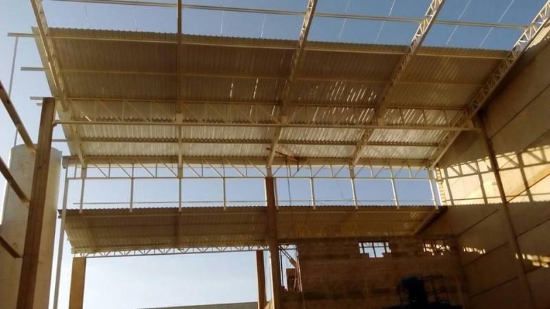Empresa de Estrutura Metálica para Cobertura Jardim Sumarezinho - Estrutura Metálica para Construtora