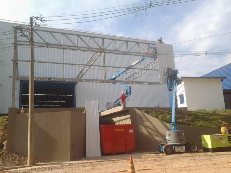 Empresa de Estrutura Metálica para Edifícios Vila Bourbon - Estrutura Metálica para Construtora