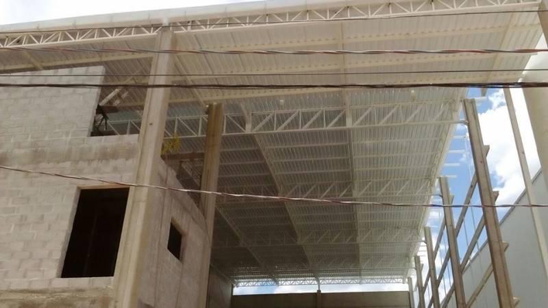 Empresa de Estrutura Metálica para Galpão Vila Santa Luísa - Estrutura Metálica para Construtora
