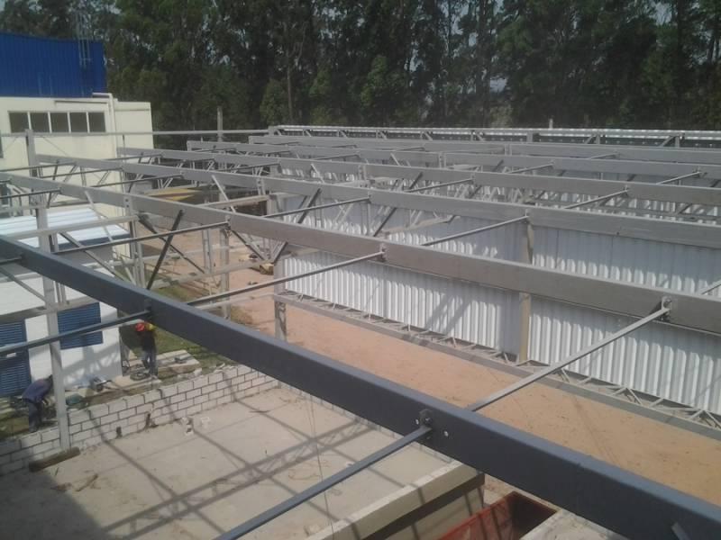 Empresa de Estrutura Metálica para Indústria Guarani - Estrutura Metálica para Construtora