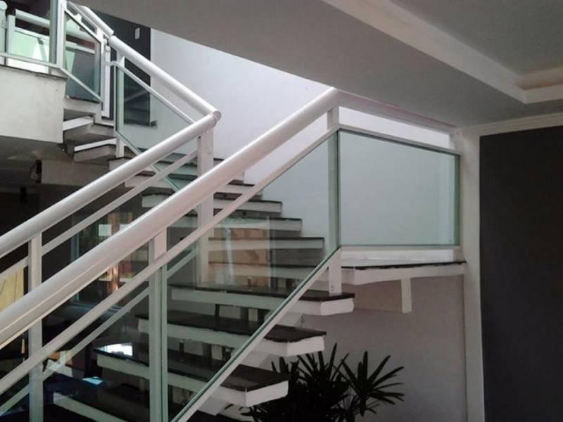 Escada Marinheiro Industrial Chácaras Cruzeiro do Sul - Escada de Aço Industrial