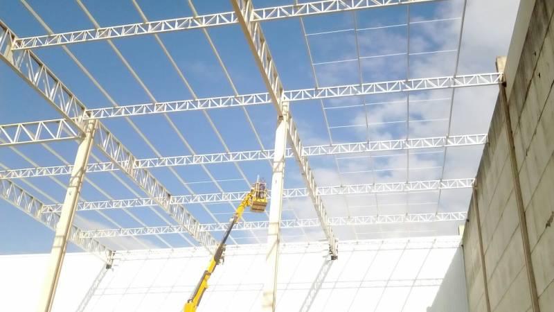 Estrutura Metálica para Construção Civil Preço Núcleo Residencial São Luiz - Estrutura Metálica para Construtora