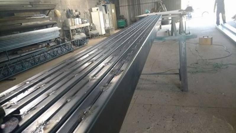 Estrutura Metálica para Mezaninos Parque CEASA - Estrutura Metálica para Construtora