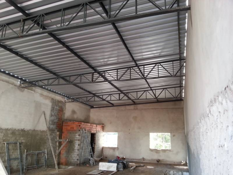 Estruturas Metálicas Industriais Parque Cidade de Campinas - Estrutura Metálica para Construção de Casas