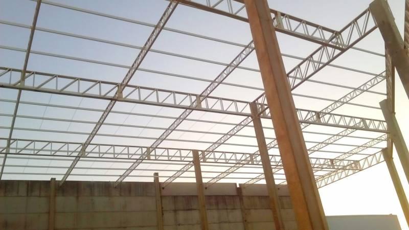 Estruturas Metálicas para Construção Civil Jardim Liliza - Estrutura Metálica para Construtora