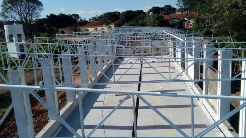 Estruturas Metálicas para Construções de Casas Residencial São Luís - Estrutura Metálica para Edifícios
