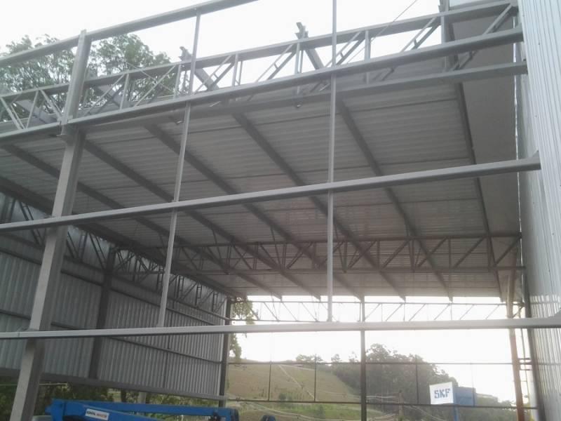 Estruturas Metálicas para Indústria Jardim Rosana - Estrutura Metálica para Construtora