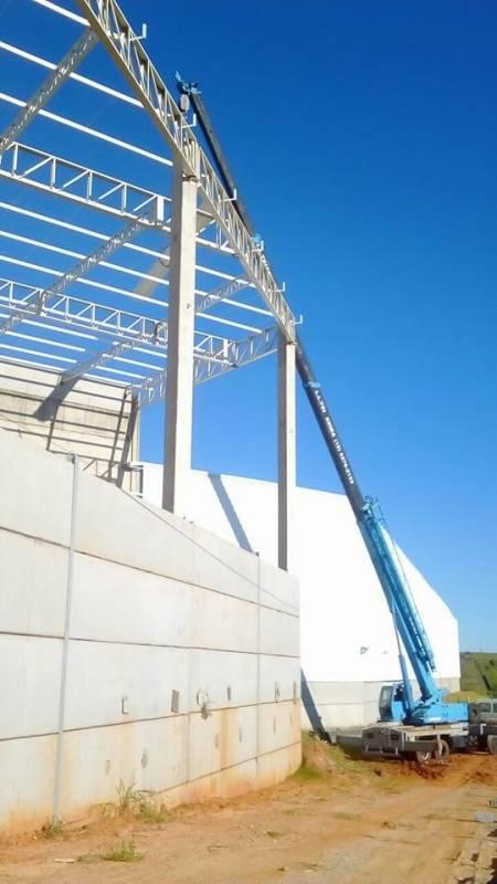 Instalação de Cobertura Metálica para Galpão Taquaral - Cobertura Metálica Deslizante