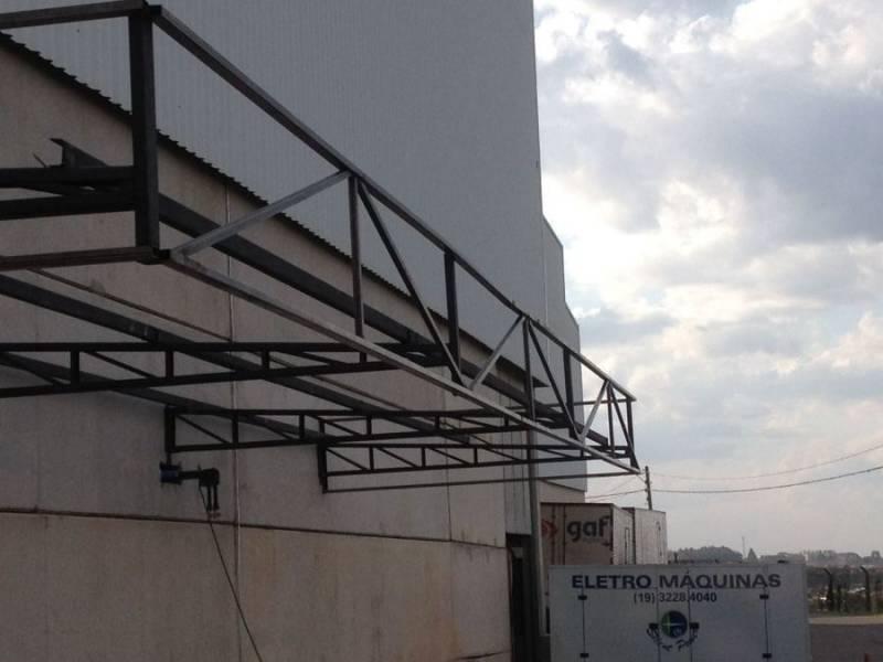 Instalação de Cobertura Metálica para Garagem Jardim Rossin - Cobertura Metálica com Isolamento