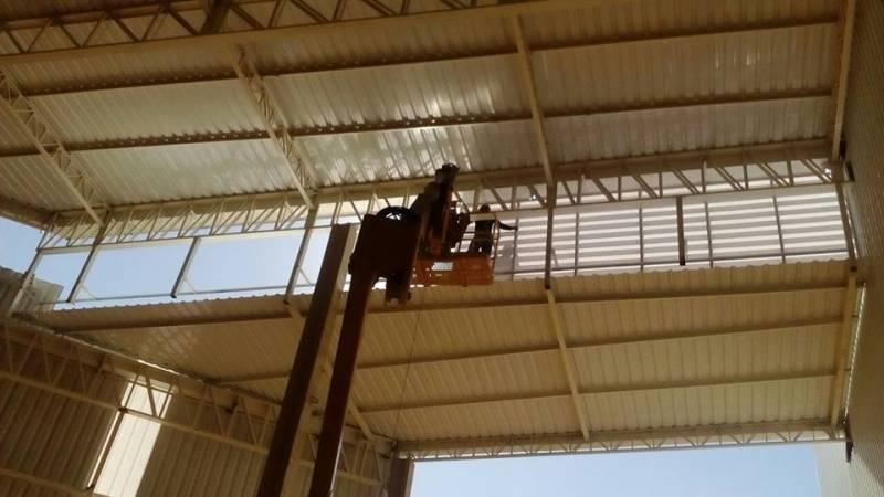 Instalação de Estrutura Metálica para Cobertura Santa Lydia - Estrutura Metálica para Construtora