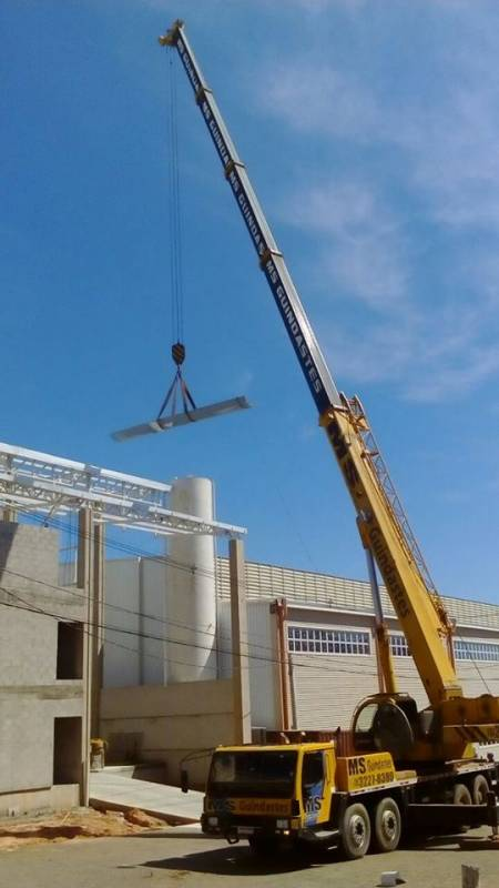 Instalação de Estrutura Metálica para Construtora Jardim Monte Belo - Estrutura Metálica para Construtora