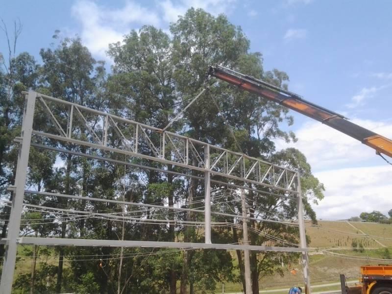 Instalação de Estrutura Metálica para Edifícios Vila Santa Rita - Estrutura Metálica para Construtora