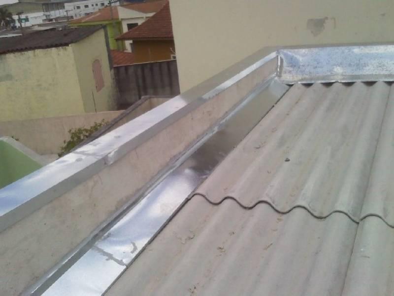 Manutenção de Calha de Zinco para Telhado Chácaras Anhanguera - Calha de Zinco