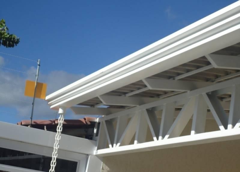 Manutenção de Rufo Industrial Fazenda Três Pedras - Rufos de Alumínio para Telhados