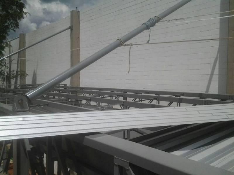 Quanto Custa Cobertura Metálica para Garagem Serra das Cabras - Cobertura Metálica Acústica