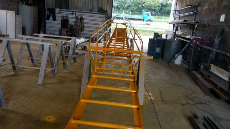 Quanto Custa Escada Industrial Jardim Santa Rosa - Escada Industrial Caracol