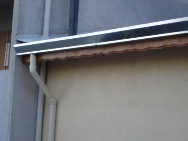 Rufos de Alumínio para Galpão CDHU Campinas F - Rufos de Alumínio para Telhados
