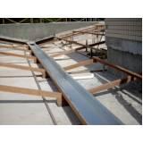 calha de alumínio para telhado Vila Renascença