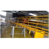 escada de aço industrial