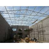 estrutura metálica industrial preço Residencial Shangrilá