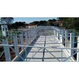 estruturas metálicas para construções de casas Vila Lunardi
