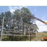 instalação de estrutura metálica para edifícios Bairro Boa Vista
